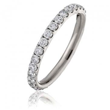 Diamond Full Eternity Ring 1.00ct in Platinum