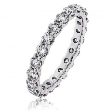 Diamond Full Eternity Ring 2.00ct in Platinum