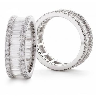 Diamond Full Eternity Ring 2.00ct, Platinum