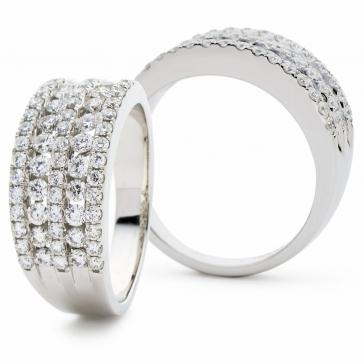 Diamond Dress Ring 1.15ct in Platinum