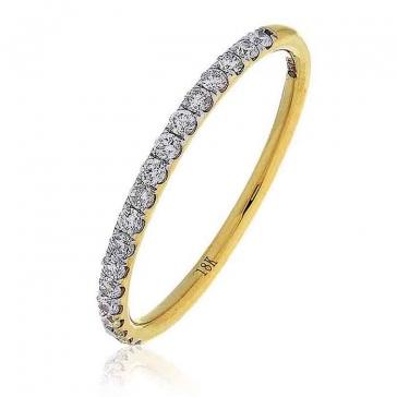 Diamond Half Eternity Ring 0.20ct, 18k Gold