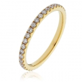 Diamond Full Eternity Ring 0.50ct, 18k Gold