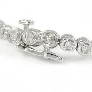 Diamond Tennis Bracelet 0.50ct in White Gold