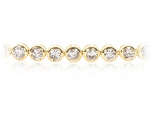 Diamond Tennis Bracelet 2.00ct, 18k Gold GSI1