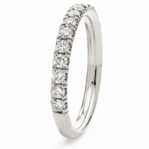 Diamond 60% Eternity Ring 0.65ct, 950 Platinum