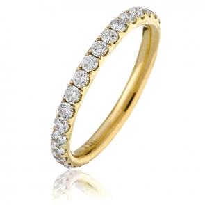 Diamond Full Eternity Ring 1.00ct, 18k Gold
