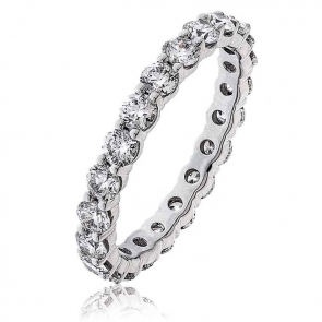 Diamond Full Eternity Ring 2.00ct in Platinum