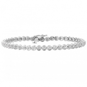 Diamond Tennis Bracelet 0.50ct in White Gold