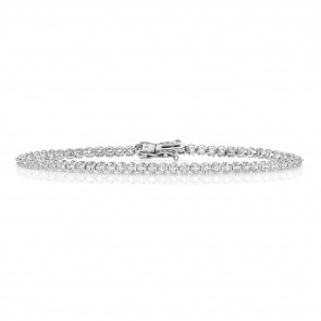 Diamond Tennis Bracelet 1.00ct in 9k White Gold