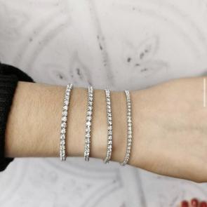 Diamond Tennis Bracelet 1.00ct up to 3.00ct, White Gold