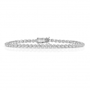 Diamond Tennis Bracelet 1.50ct in 9k White Gold