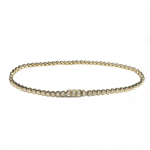 Diamond Tennis Bracelet 1.00ct, 18k Gold G/SI1