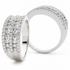 Diamond Dress Ring 1.15ct in Platinum