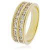 Diamond Half Eternity Ring 1.00ct, 18k Gold