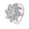 Diamond Dress Ring 2.00ct, 18k White Gold