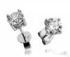 Diamond Studs 0.80ct, 18k White Gold