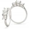 Diamond Princess Trilogy 1.30ct, 18k White Gold