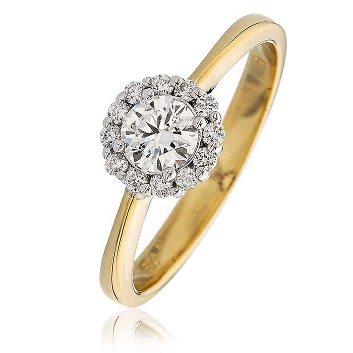 cts set ring pear gold i engagement diamond white in shaped rings