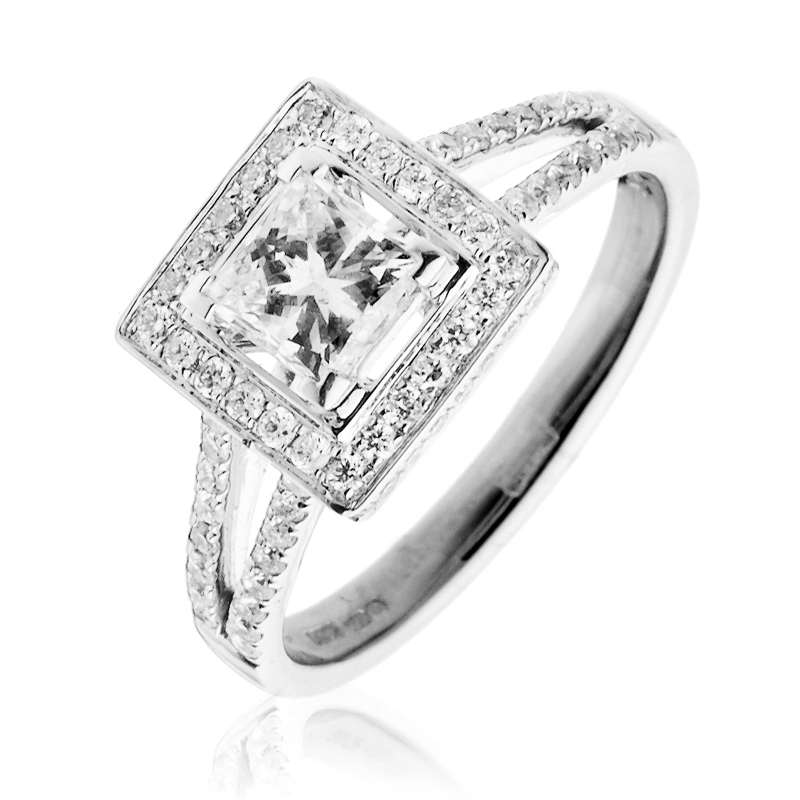 Buy cheap Engagement ring princess pare Women s Jewellery prices for