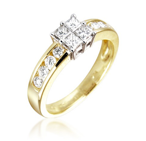 buy cheap engagement ring princess compare s